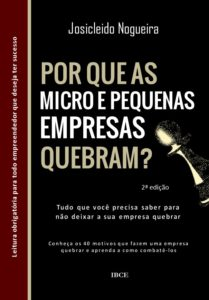 Livro Por Que as Empresas Quebram - 2ª edição - Josicleido Nogueira
