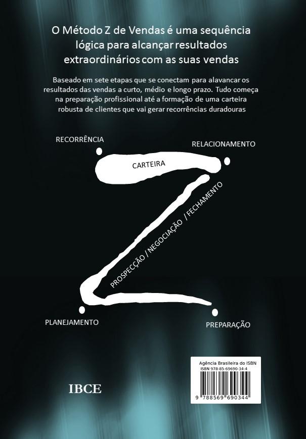 contracapa - Método Z de Vendas