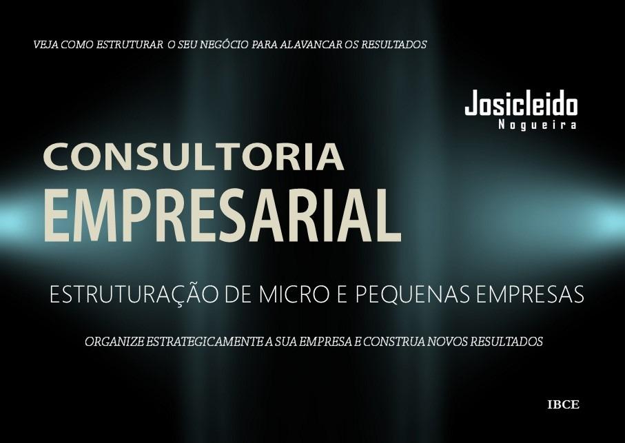 Capa Livro - Consultoria Empresarial para Estruturação de Empresas - Josicleido Nogueira