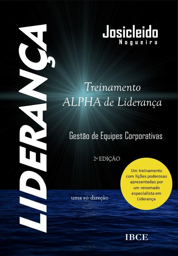 Capa Livro Treinamento Alpha de Liderança - 2ª Edição