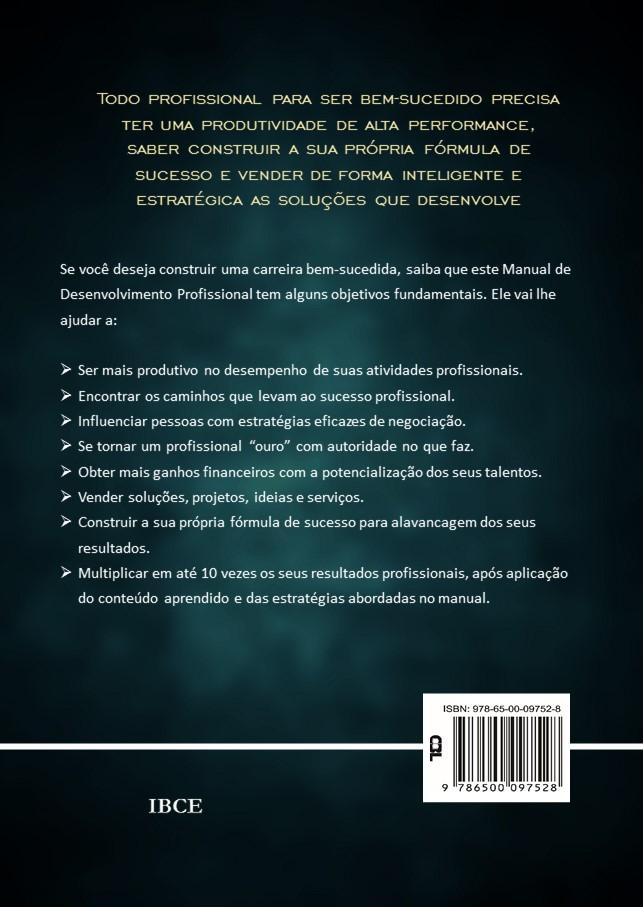 Contracapa Livro -O Manual do Desenvolvimento Profissional