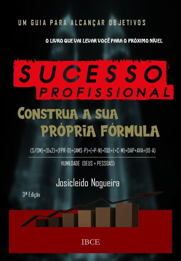 Livro - Sucesso Profissional - Construa a Sua Própria Fórmula - Josicleido Nogueira
