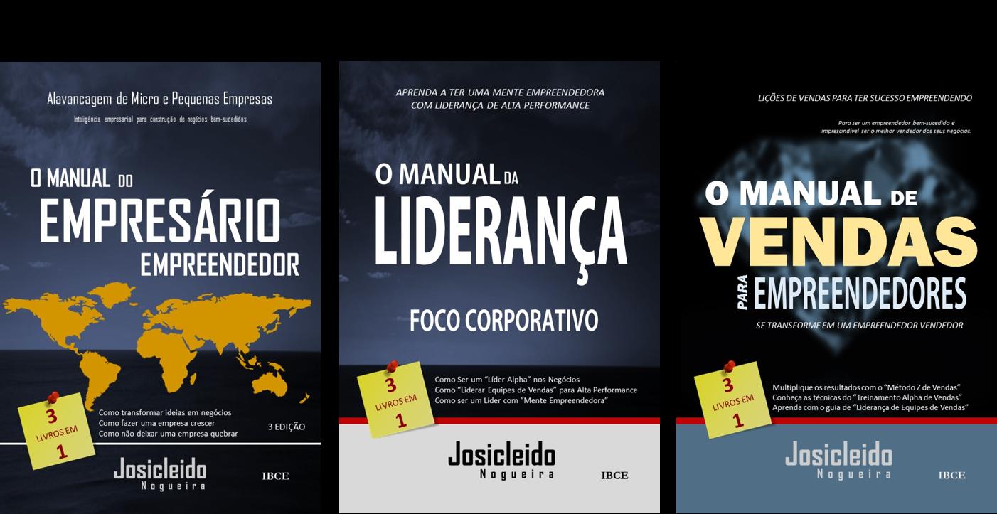 Kit Empresário de Sucesso - Livros de Josicleido Nogueira - Melhores Livros de Negócios do Brasil
